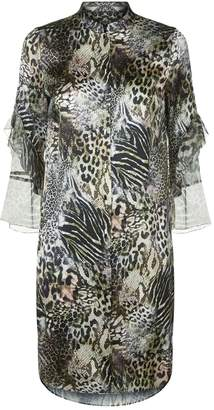 Elie Tahari Sawyer Tunic Shift Dress