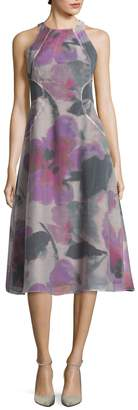 Rachel Roy Women's Fit & Flare Midi Dress