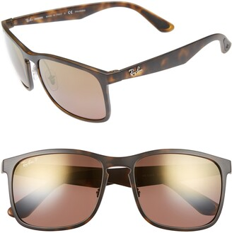 Ray-Ban 58mm Chromance Sunglasses