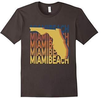 Miami Beach Florida T Shirt Vintage FL Repeat