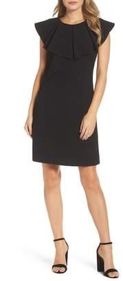 Eliza J Ruffle Shift Dress