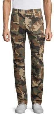 True Religion Nomad Camo-Print Cotton Cargo Pants