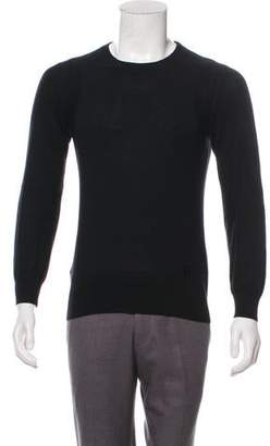 Givenchy Silk & Cashmere Crew Neck Sweater