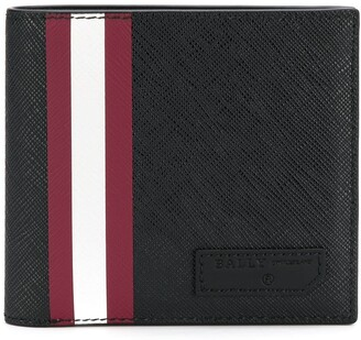 Bally stripe detail wallet