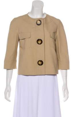 Michael Kors Lightweight Cropped Jacket