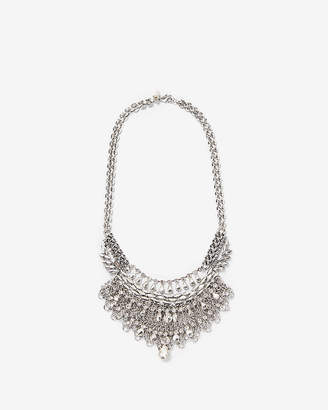 Express Rhinestone Statement Necklace