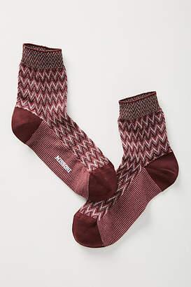 Missoni Textured Crew Socks