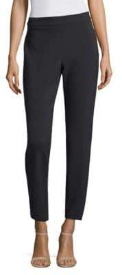 Peserico Side Zip Pleat Skinny Pants