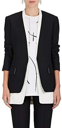 Derek Lam Women's Layered Collarless Blazer