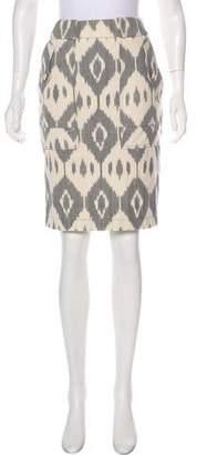 Altuzarra Ikat Knee-Length Skirt