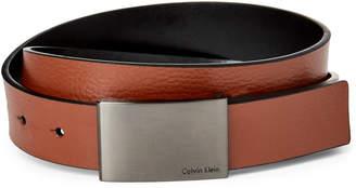 Calvin Klein Cognac Leather Belt