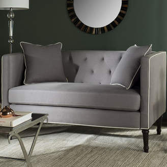 Charlton Home Donelson Tufted Chesterfield Settee