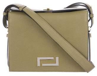 Lancel Grained Leather Shoulder Bag