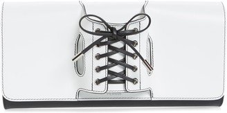 PERRIN Le Corset Leather Clutch