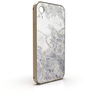 Roxxlyn Invisible Grey Marble iPhone Case