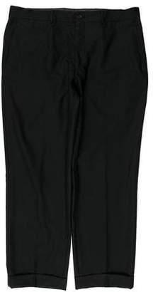 Etro Cropped Wool Pants