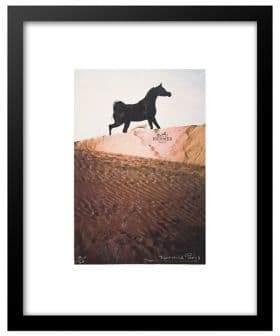 Hermes Luxe West Arabian Horse Ad Print
