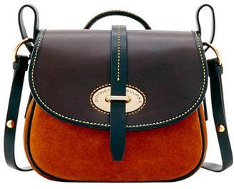Dooney & Bourke Verona Suede Christina Crossbody Bag $248 thestylecure.com