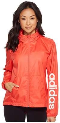 adidas Linear Windbreaker Women's Coat