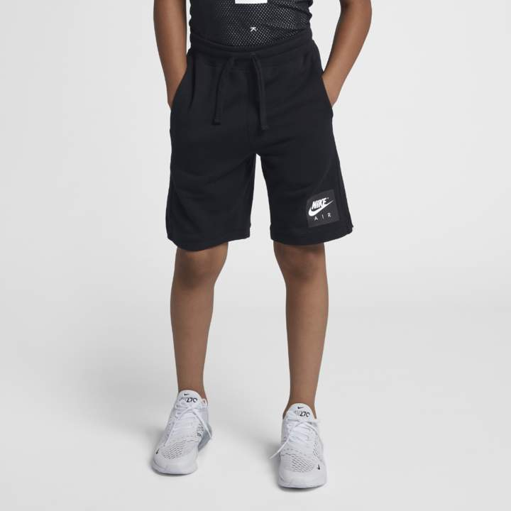 Air Big Kids' (Boys') Shorts Size XS (Black)