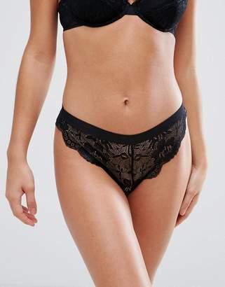 Asos Ruby Mix & Match Picot Trim Lace Hipster Bikini Bottom