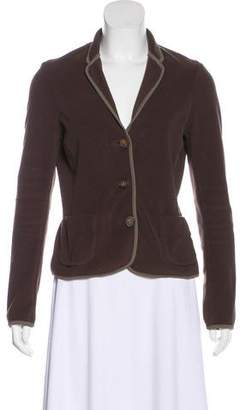 Max Mara Fleece Button-Up Jacket