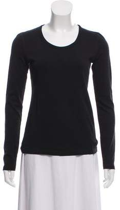Theory Knit Long Sleeve Top