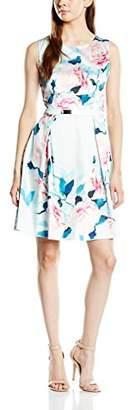 Yumi Women's Rose Satin Dress