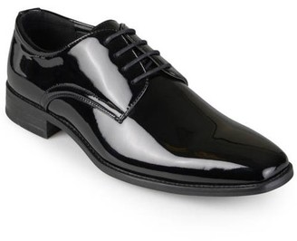 Daxx Men's Lace-Up Faux Leather Dress Shoes