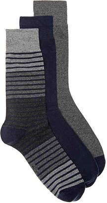 Polo Ralph Lauren Stripe Crew Socks - 3 Pack - Men's