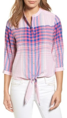 Women's Tommy Bahama Plaid Shirt $118 thestylecure.com