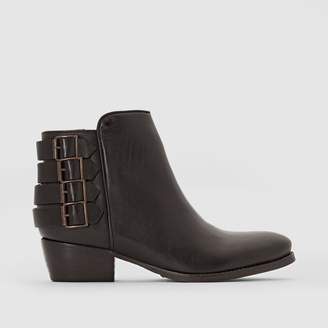 Pastelle Ely Leather Ankle Boots