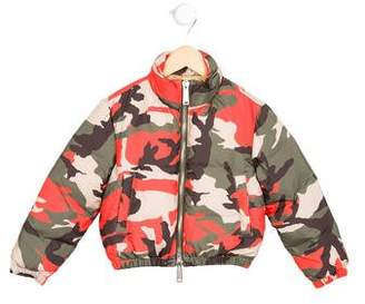 DSQUARED2 Boys' Camouflage Puffer Jacket w/ Tags