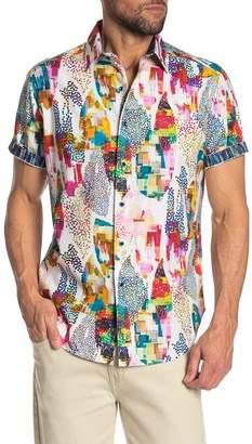 Robert Graham Avian Short Sleeve Woven Shirt