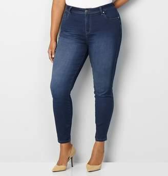 Avenue Butter Denim Skinny Jean in Dark