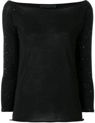 Fabiana Filippi sequin detail sweater