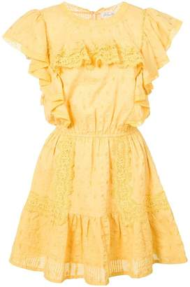 LoveShackFancy Love Shack Fancy embroidered flared dress