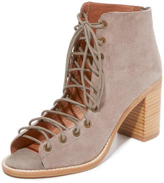 Jeffrey Campbell Cors Peep Toe Booties $165 thestylecure.com