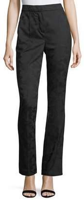 Redemption Jacquard High-Waist Tuxedo Pants