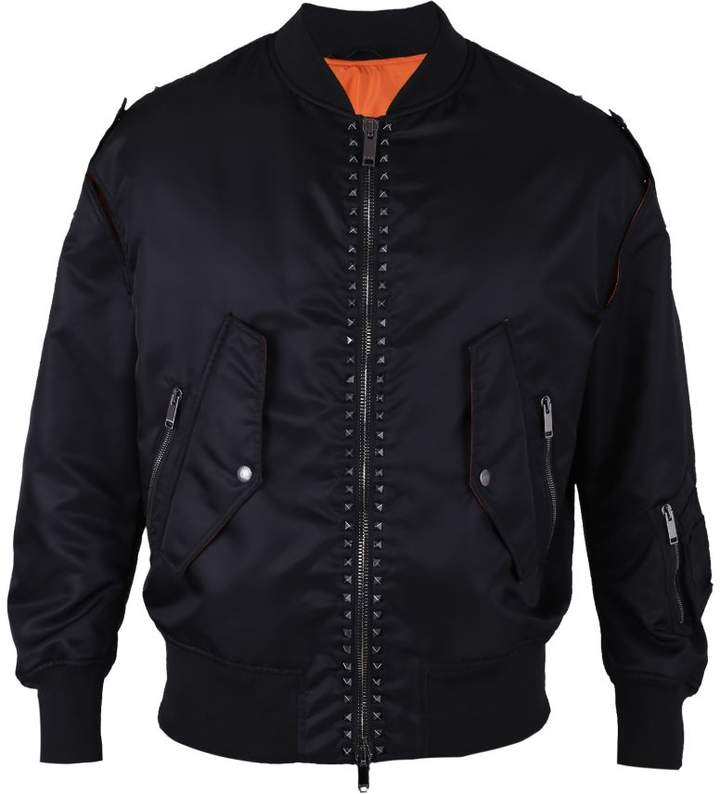 Studded Nylon Jacket