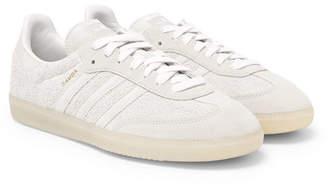 adidas Samba Brushed-suede Sneakers
