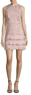 Parker Zahara Combo Lace Mini Dress