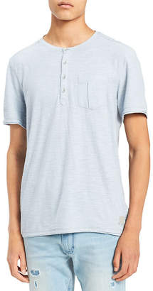 Calvin Klein Jeans Short-Sleeve Slub Henley
