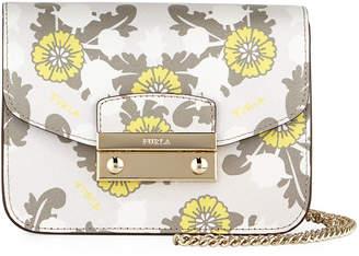 Furla Julia Mini Floral Crossbody Bag