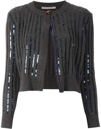 Martha Medeiros cropped knitted cardigan
