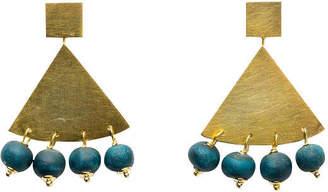 """Klaylife Triangle Earrings""""Zahara"""""""