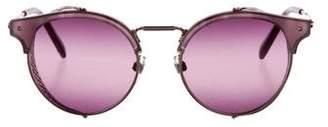 Valentino Metallic Tinted Sunglasses w/ Tags