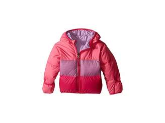 The North Face Kids Reversible Moondoggy Jacket (Infant) (Cha Cha Pink