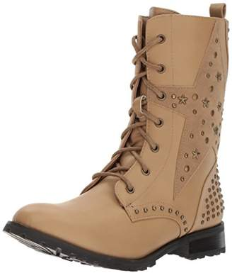 Gia Mia Women's Star Studded Combat Boot
