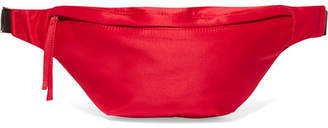 Elizabeth and James Satin Belt Bag - Red